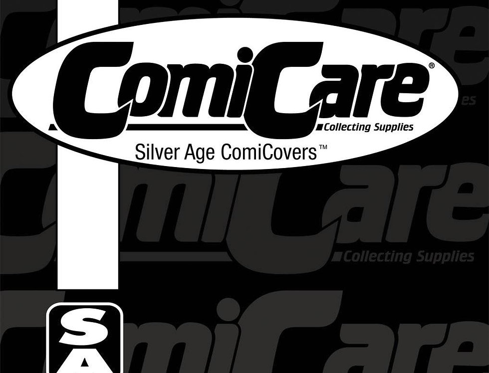 COMICARE SILVER PP BAGS 100