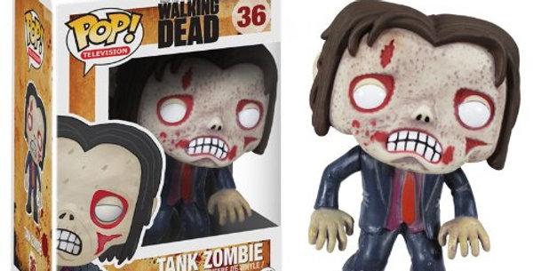 Pop Walking Dead Tank Zombie Vinyl Figure