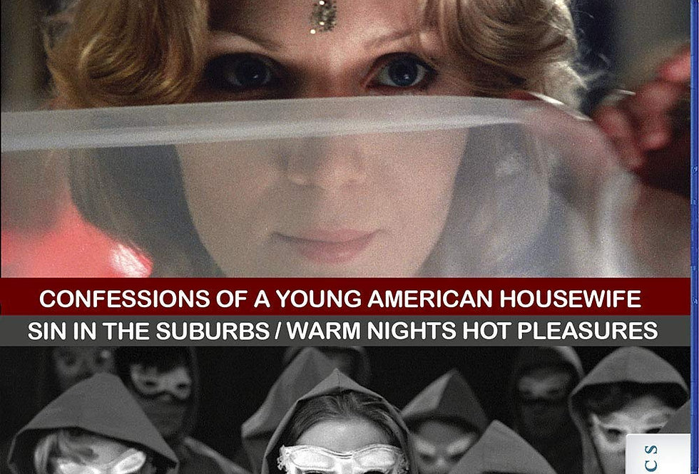 Confessions Of A Young American Housewife (1974) / Sin in The Suburbs(1964) / Wa