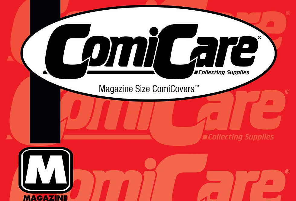 COMICARE MAGAZINE PP BAGS 100