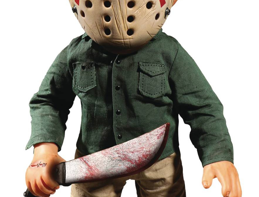 FRIDAY THE 13TH JASON 13IN STYLIZED ROTO FIG W/SOUND