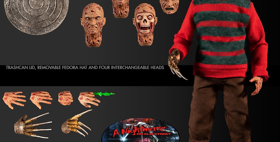 ONE-12 COLLECTIVE NIGHTMARE ON ELM STREET FREDDY KRUEGER Action Figure