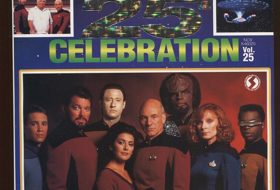 Star Trek the Next Generation 25th Celebration #25 (100 Page Collector's Special