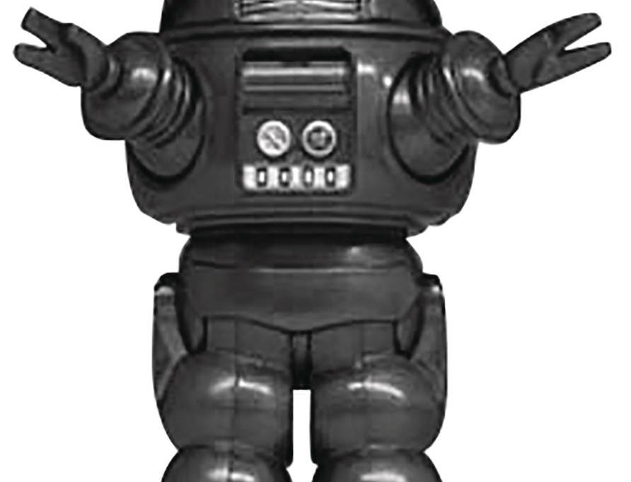 FORBIDDEN PLANET ROBBY ROBOT GRAY BLACK SOFT VINYL PX FIG