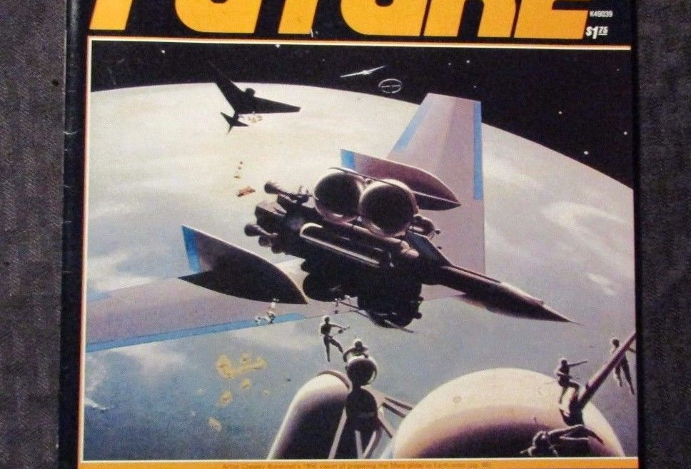 "FUTURE MAGAZINE #1, 1978, PREMIERE ISSUE!!! ""CLOSE ENCOUNTERS"" & ISAAC ASIMOV!!!"