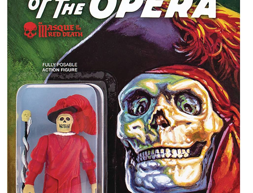 UNIVERSAL MONSTERS MASQUE OF THE RED DEATH REACTION FIGURE
