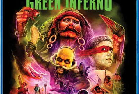 Green Inferno (Shout! Factory) Blu-Ray