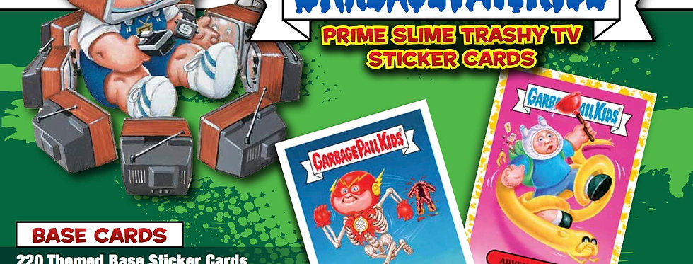 GARBAGE PAIL KIDS CARDS TV 1 Pack