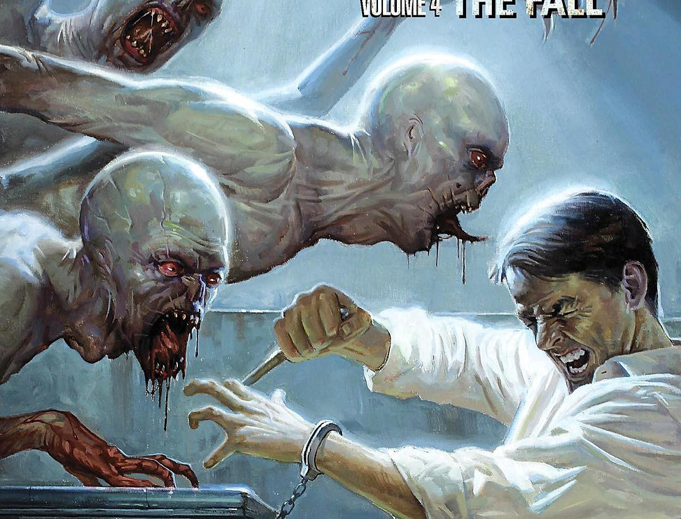 Strain Volume 4: The Fall Paperback