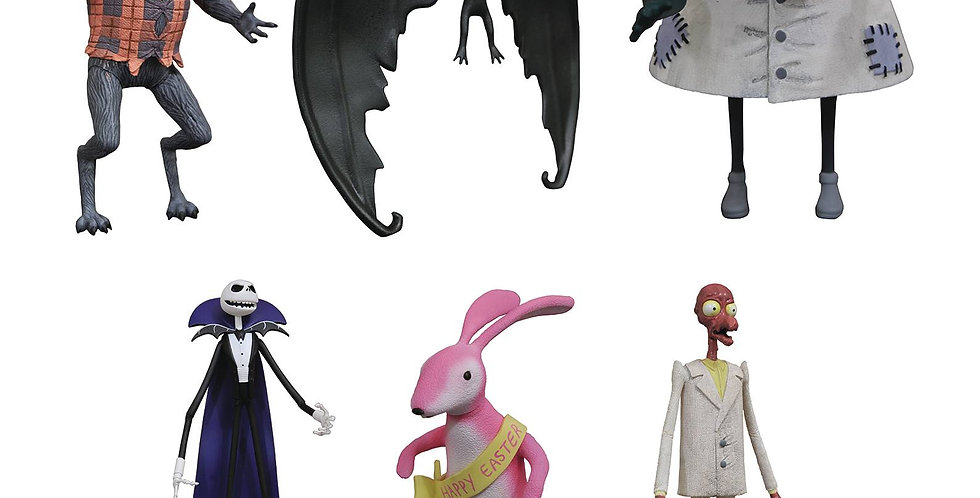 Nightmare Before Christmas Select Action Figures Series 5 ASST