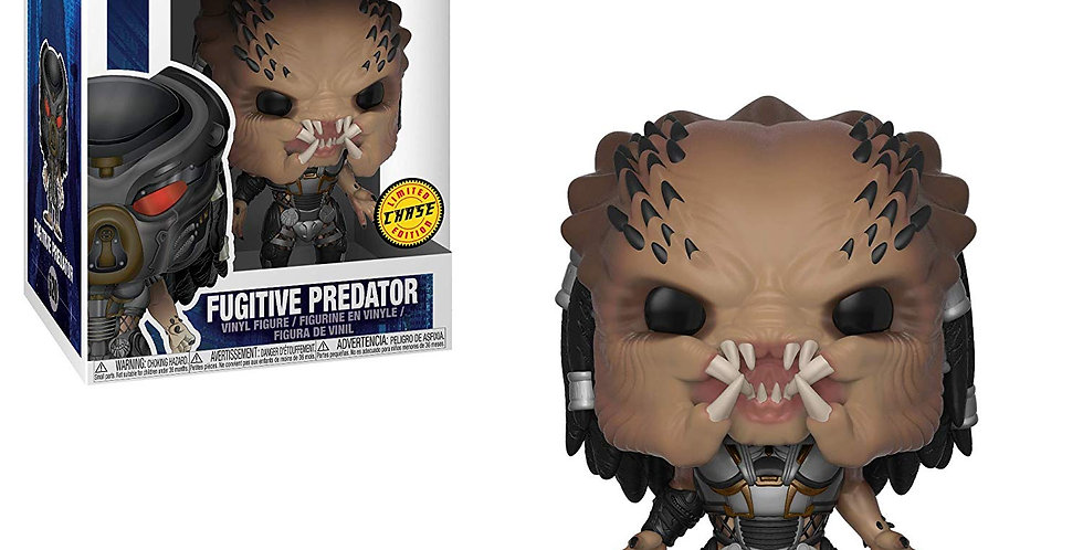 POP MOVIES FUGITIVE PREDATOR VINYL FIG