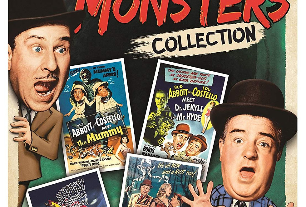 ABBOT AND COSTELLO MONSTER cOLLECTION