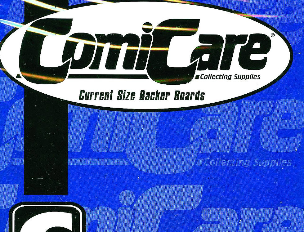 COMICARE CURRENT BOARDS (SOLD IN 100)