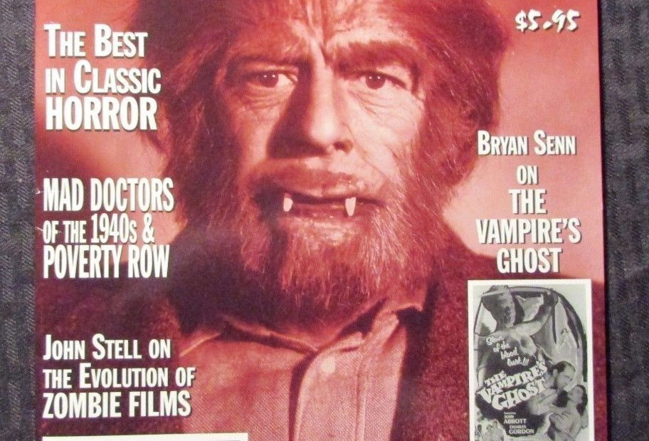 MONSTERS From The Vault Magazine #6 NM- VAMPIRE's GHOST