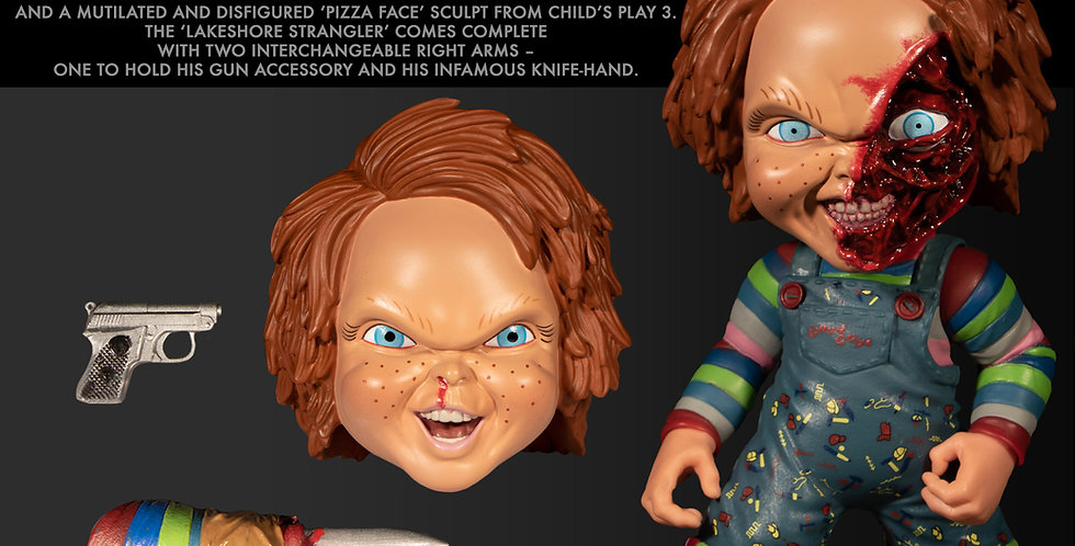 MEZCO DESIGNER SERIES CHILDS PLAY CHUCKY 6IN DELUXE FIGURE  Action Figure