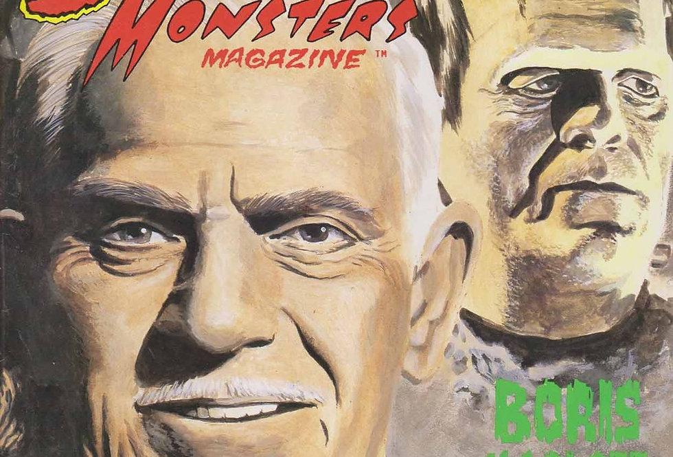 Scary Monsters Magazine #31; KARLOFF tribute, Dennis Druktenis