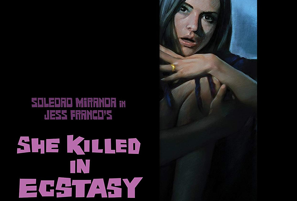 She Killed In Ecstasy [2-Disc Limited Edition Blu-ray]