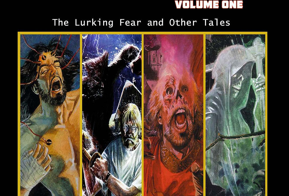 H.P. Lovecraft's Worlds - Volume One: The Lurking Fear and Other Tales Paperback