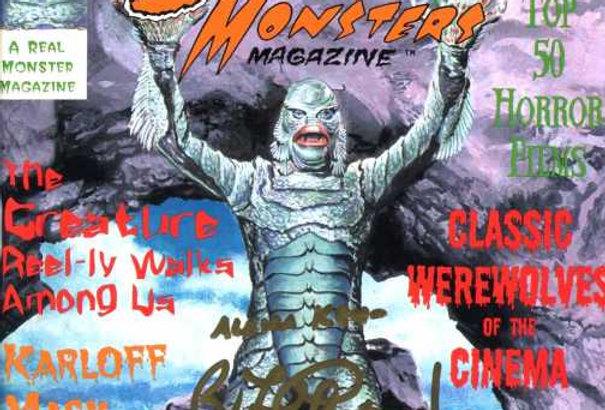 SCARY MONSTER MAGAZINE 29 Zeitschrift Karloff Werewolves Frankenstein