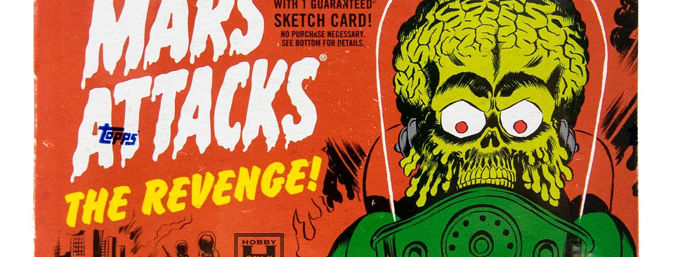 Mars Attacks: The Revenge Trading Cards Hobby Box (Set) (Topps 2017)