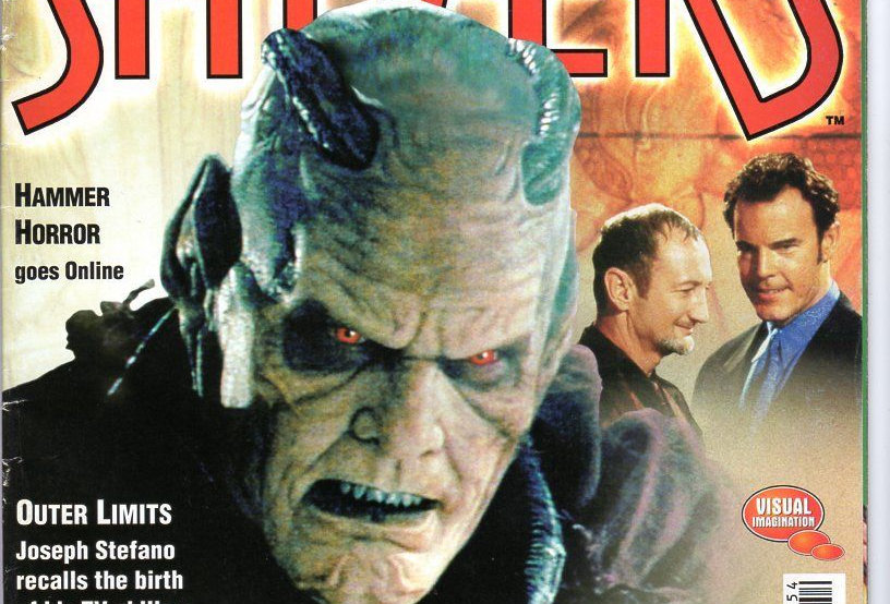 Shivers #54 Wishmaster! Motel Hell! The Phantom Of The Opera! Outer Limits!