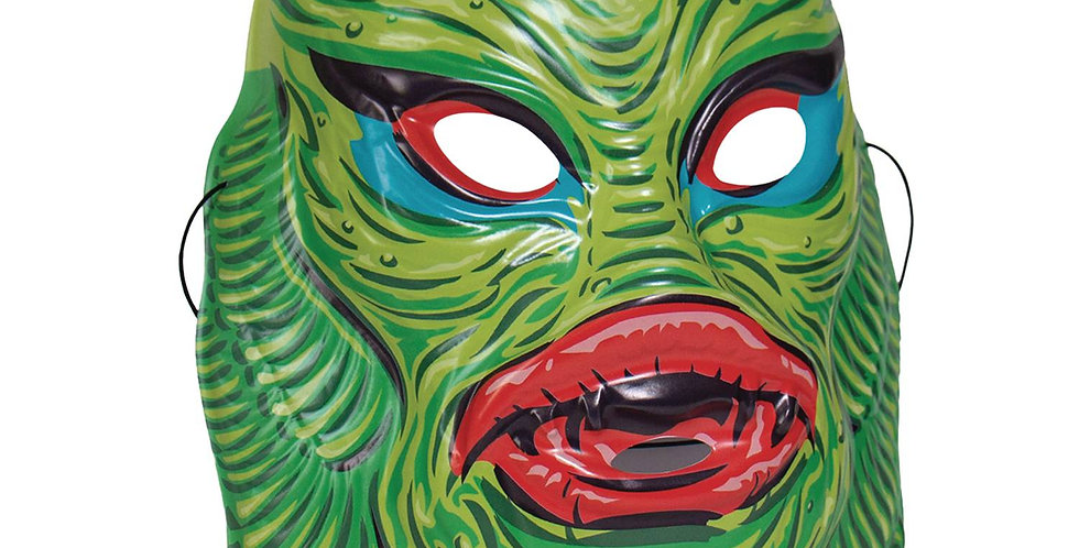 UNIVERSAL MONSTERS GREEN CREATURE FROM BLACK LAGOON MASK