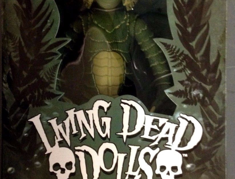 LIVING DEAD DOLL CREATURE BLACK LAGOON