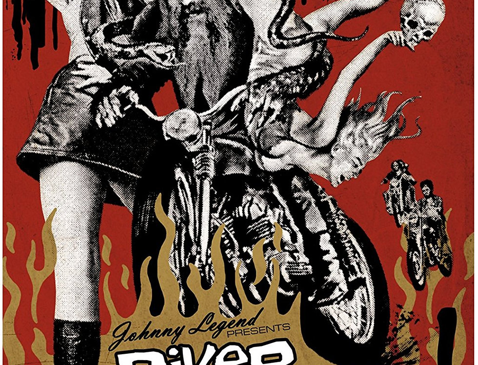 Johnny Legend Presents Biker Mania! [Import]