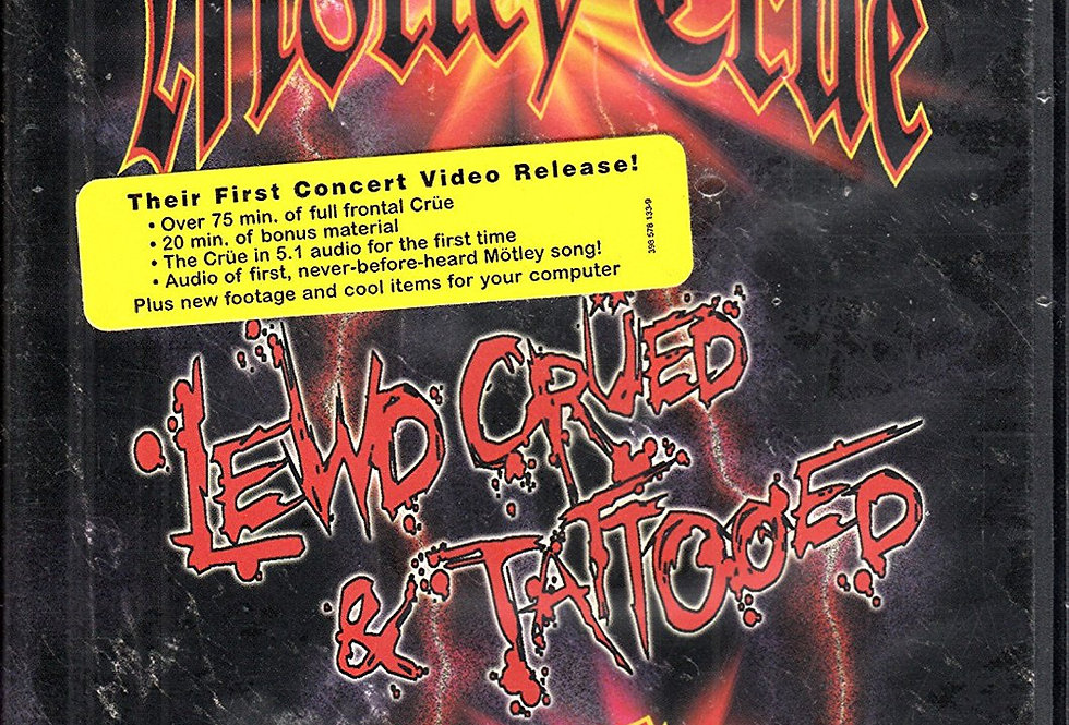 Motley Crue: Lewd Crued & Tattooed (Widescreen) [Import]