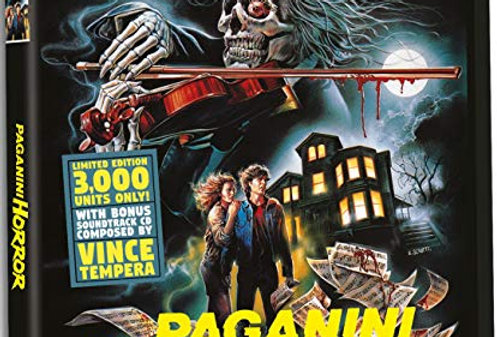 Paganini Horror - Limited Edition [Only 3,000 Units With a Bonus CD Soundtrack!]