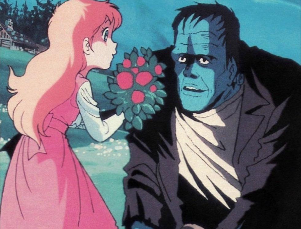 Monster of Frankenstein (Animated)  DVDr
