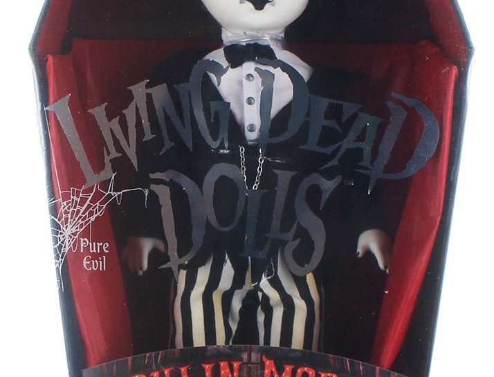 Living Dead Dolls Series 33 Moulin Morgue: Maitre Des Morts
