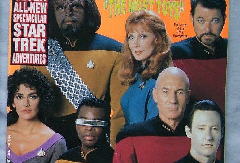 Star Trek The Next Generation:The Official Magazine Series Vol. 23 Season '92-93