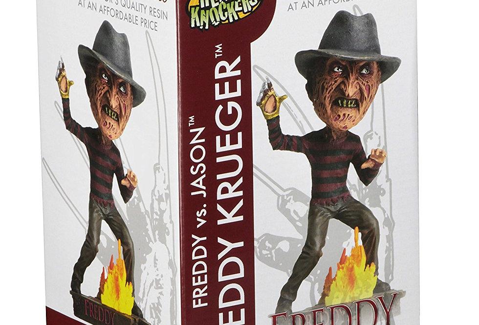 Freddy Vs. Jason Head Knockers Freddy Krueger 7-Inch Bobble Figure