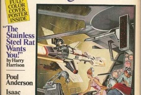 ASIMOV'S SF ADVENTURE MAGAZINE #1 Harry Harrison,Poul Anderson, Alan Dean Foster