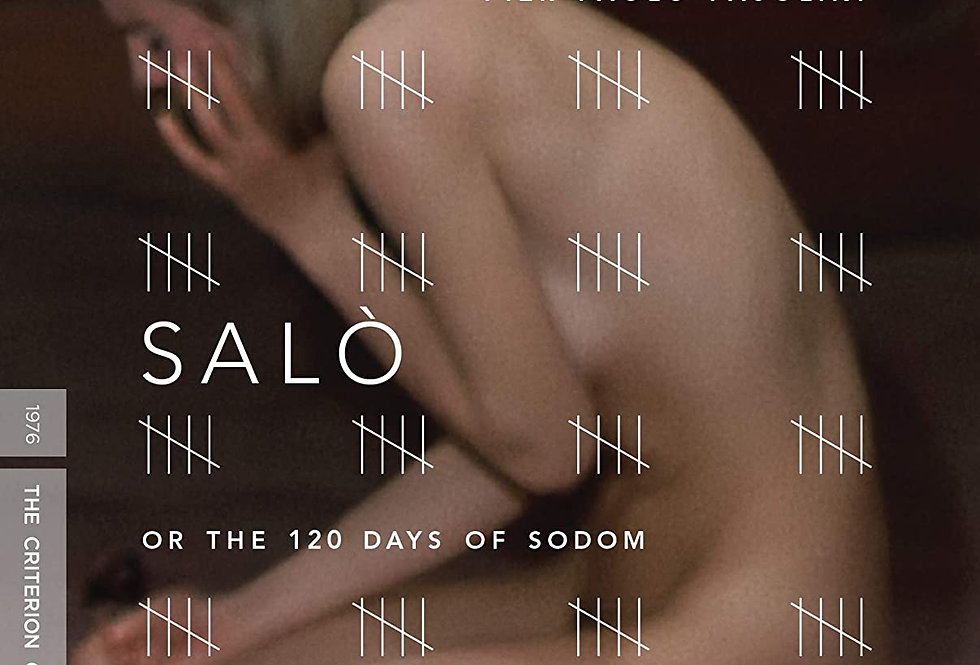 Salo, or the 120 Days of Sodom (The Criterion Collection) [Blu-ray]