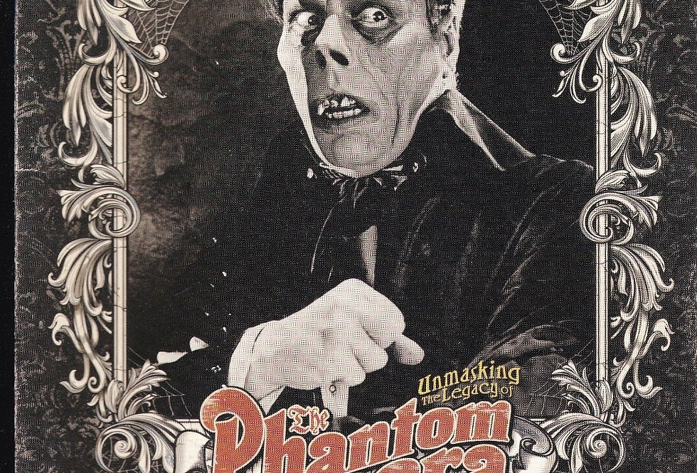 RUE MORGUE magazine # 117, Phantom of the Opera, Golden Age of TV Fright Films