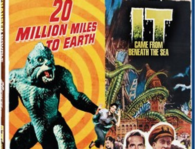 20 Million Miles To Earth / It Came From Beneath The Sea - Ray Harryhausen Doubl
