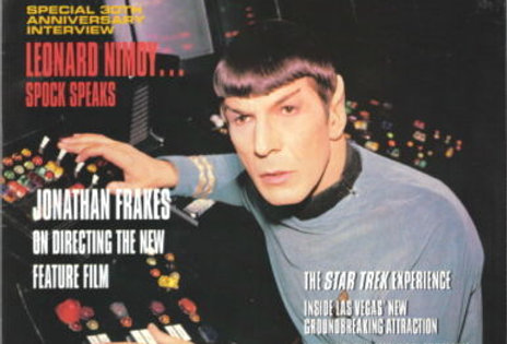 Star Trek Communicator Fan Club Magazine #107, 1996