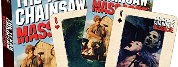TEXAS CHAIN SAW MASSACRE PLAYING CARDS