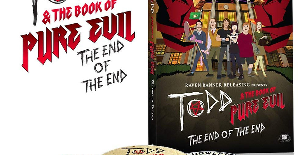 Todd & The Book of Pure Evil: The End of The End - Limited Edition