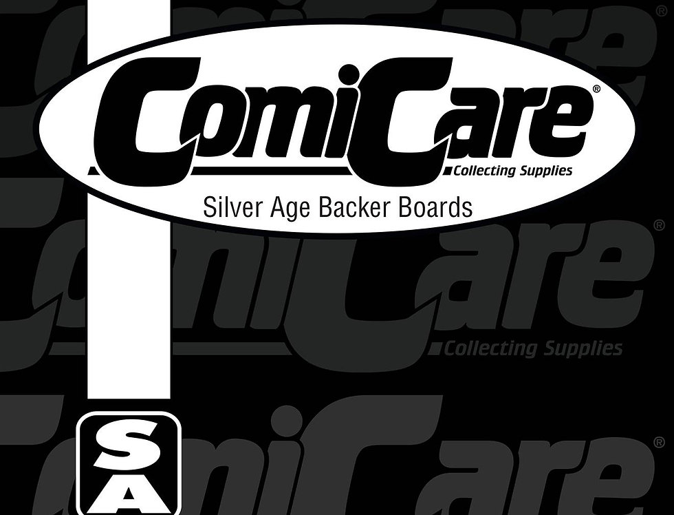 COMICARE SILVER BOARDS (SOLD IN 100)