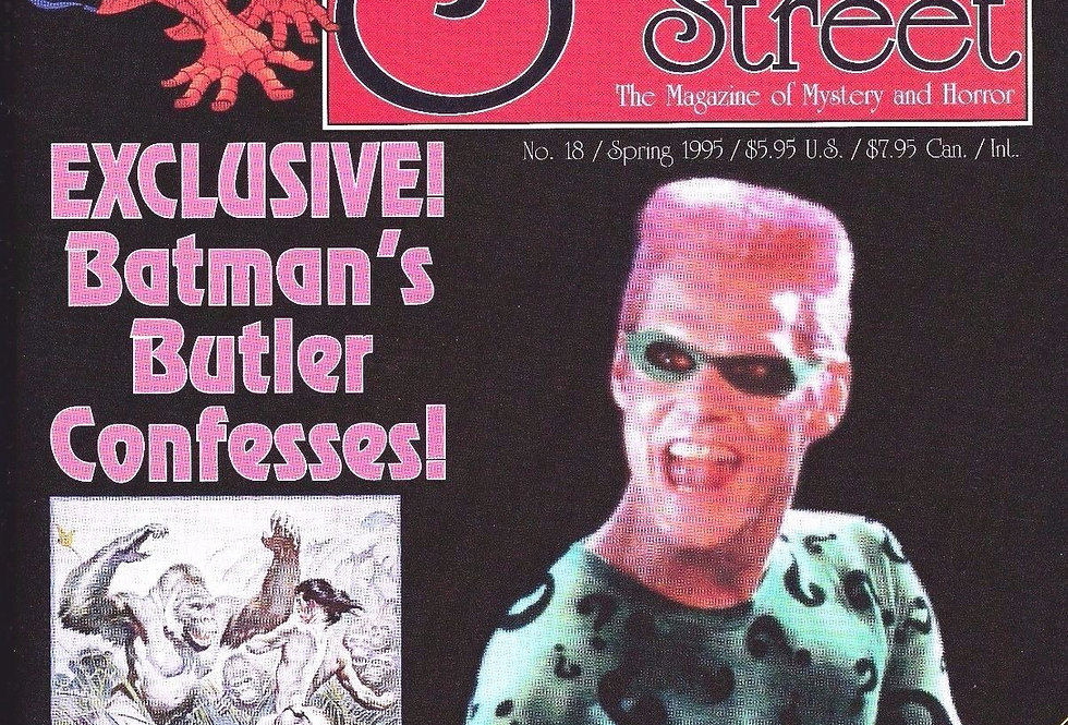 SCARLET STREET magazine # 18, Jim Carrey - Riddler, Spider-man, X-Files, Tarzan