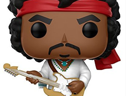 op Rocks: Music-Jimi Hendrix Woodstock Toy Figure