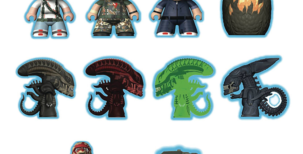 ALIENS GAME OVER COLLECTION TITANS MINI FIGURE