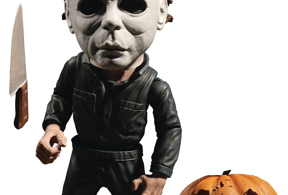 HALLOWEEN MICHAEL MYERS 6IN DELUXE STYLIZED ROTO FIGURE