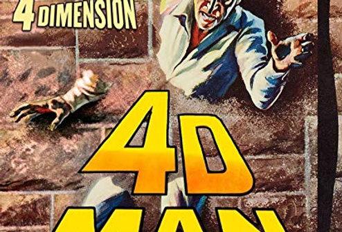 4D Man (1959) (K1) (Blu-Ray)