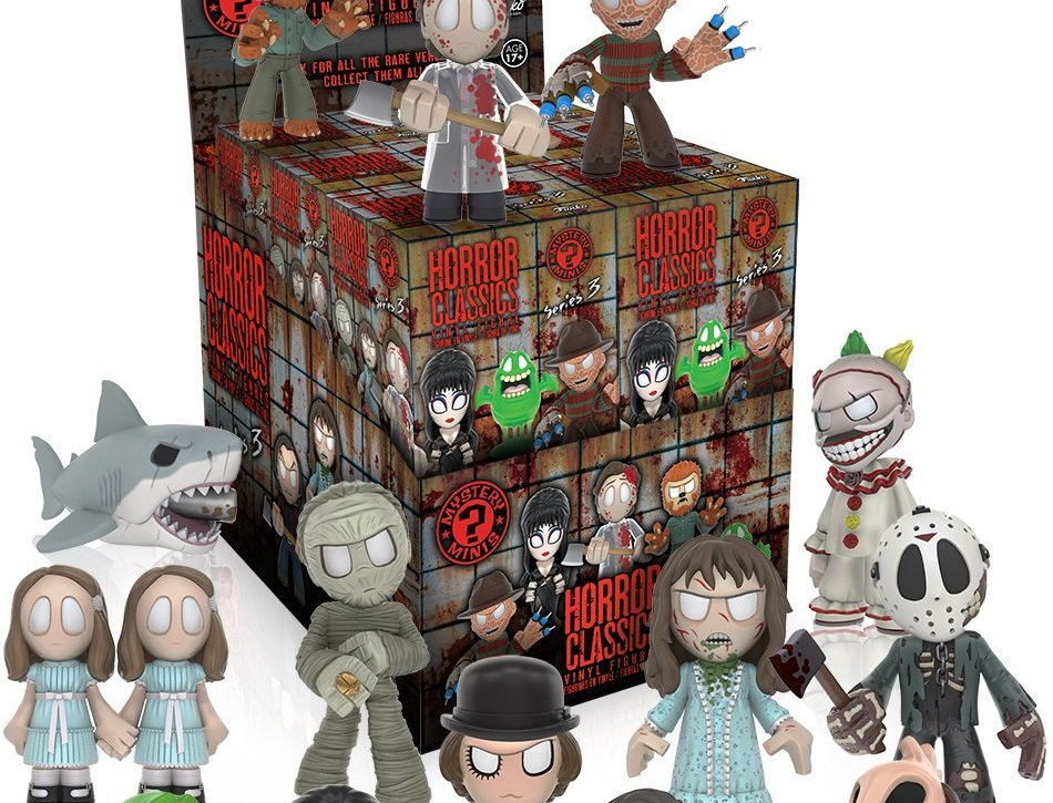 Horror Collection Mystery Minis Series 3 Blind Box by Horror Collec