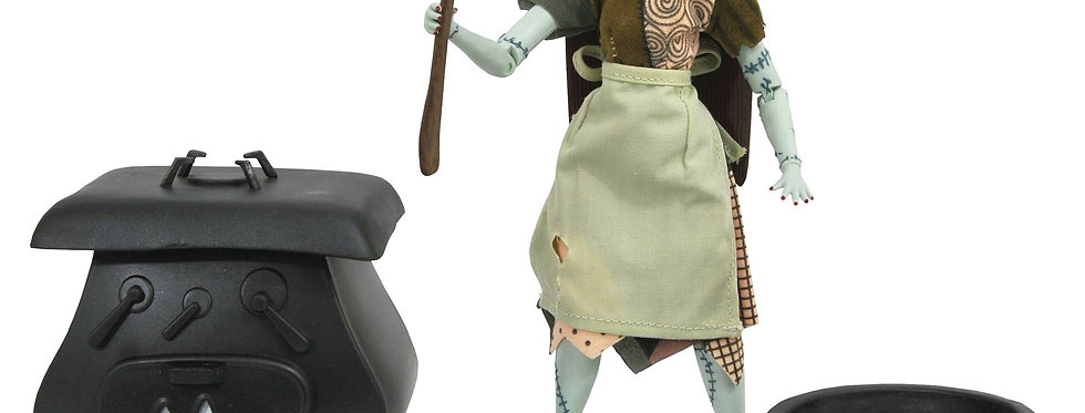 Nightmare Before Christmas:Silver Ann. Sally Figure