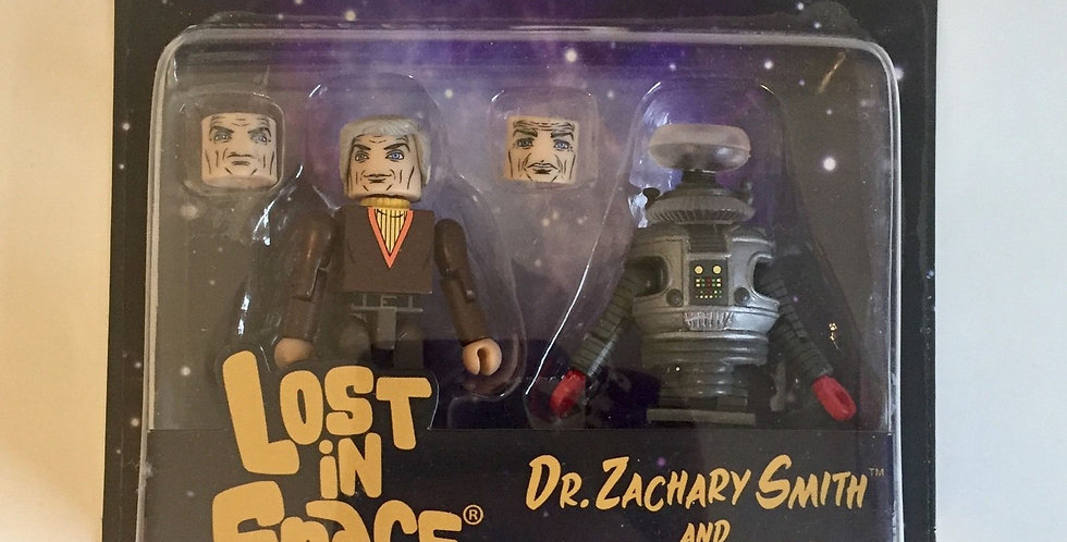 LOST IN SPACE DR SMITH & B9 MINIMATES